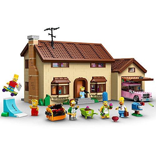 LEGO The Simpsons La Casa de - juegos de construcción (Multicolor, 12 año(s), 2523 pieza(s), Dibujos animados, Niño/niña)