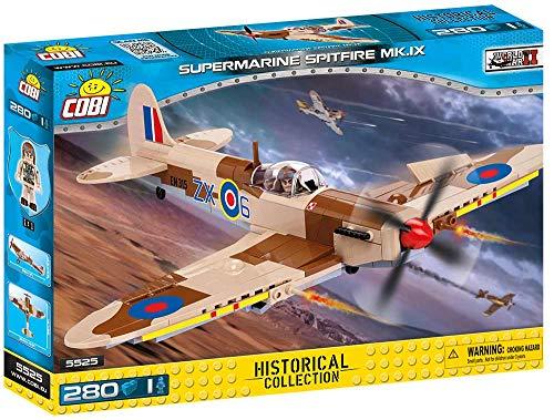 COBI- Avión, Supermarine Spitfire MK.IX (5525) , color/modelo surtido