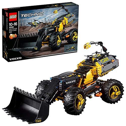 LEGO 42081 Technic Prototipo Volvo de cargadora con Ruedas ZEUX (Descontinuado por Fabricante)