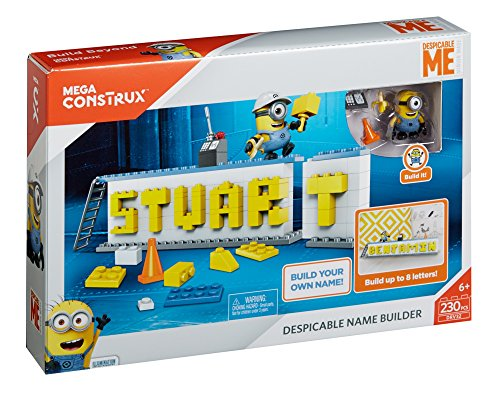 Mega Bloks - Creador de Nombres de mi vill (Mattel DRV32)