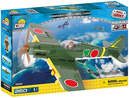 COBI - Kawasaki KI-61-I Hien 'Tony', avión (5520) , color/modelo surtido