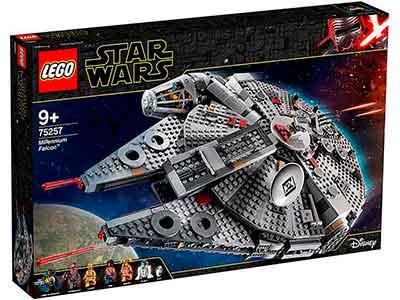 Lego Halcon Milenario caja