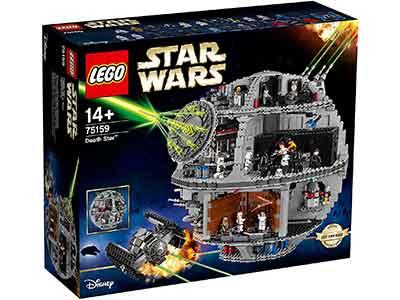 Lego Estrella de la Muerte Caja