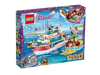 Lego Friends Barco Rescate